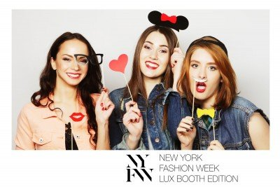 Cadre photobooth personnalisé Luxembourg Fashion Week
